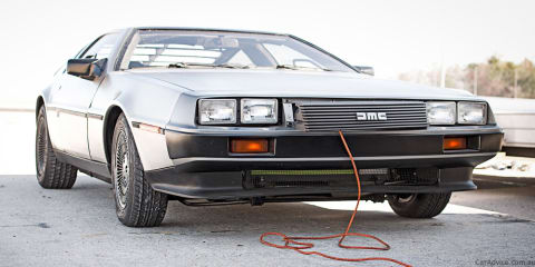 Electric DeLorean to enter production in 2013