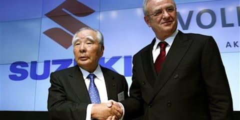 Volkswagen buys 19.9 percent stake in Suzuki