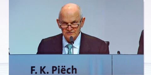 Volkswagen chairman Ferdinand Piech steps down after unsuccessful move against CEO
