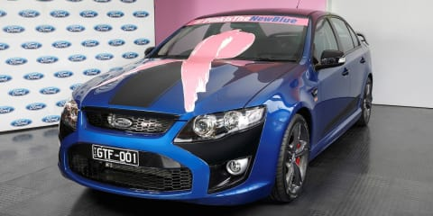 FPV GT F :: Ford auctioning final GTs for breast cancer research