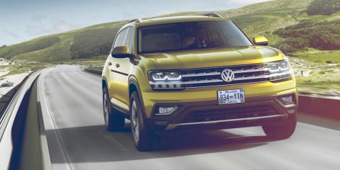 Volkswagen Atlas seven-seat SUV revealed