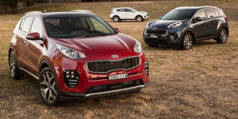 2016 Kia Sportage pricing and specifications