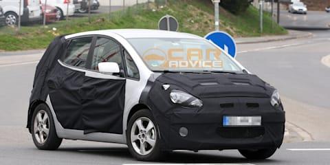 Hyundai ic25 spied, Kia Venga sibling