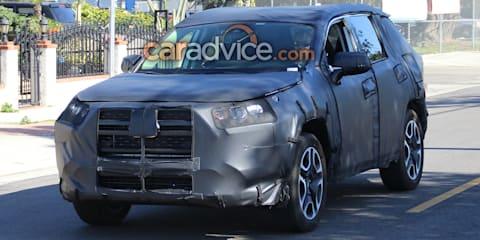2019 Toyota RAV4 snapped in sunny California