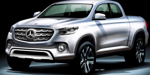 2018 Mercedes-Benz ute will be properly premium