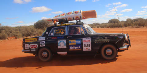 Chiko Roll car gearing up for its 30th Variety Bash