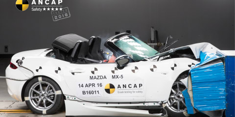 Mazda MX-5 gets five-star ANCAP rating