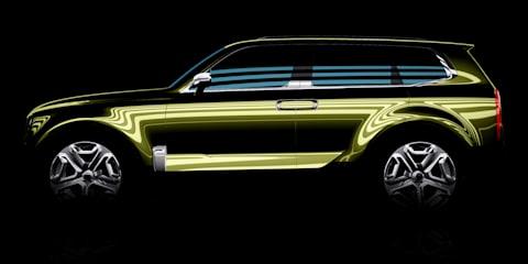 Kia KCD12 Concept:: new Mohave SUV, or K900 companion?