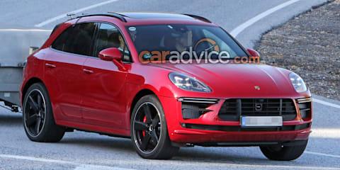 2019 Porsche Macan Turbo spied sans camouflage