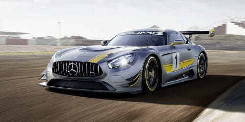 Mercedes-AMG GT3 racer officially unveiled with 6.2-litre V8