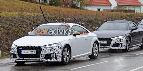 2019 Audi TT S spied