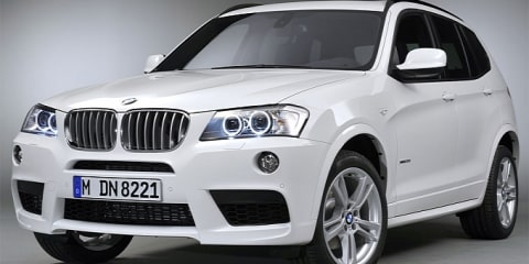 2011 BMW X3 M Sport package revealed ahead of Paris show
