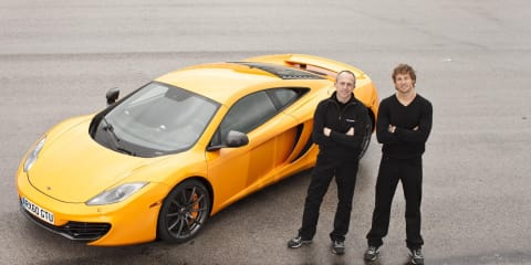 McLaren MP4-12C performance figures announced