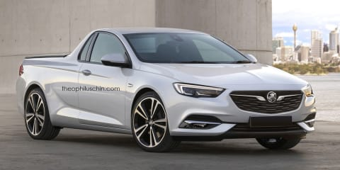 Here's what a 2018 Holden Ute could look like