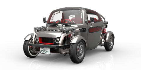 Toyota Kikai hot rod concept revealed