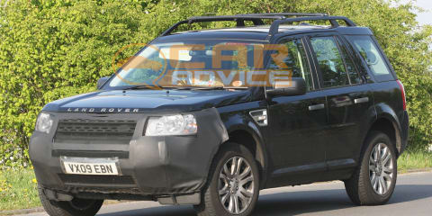 2011 Land Rover Freelander 2 facelift spied