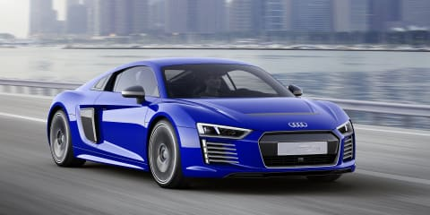 Audi R8 e-tron Piloted Driving concept debuts at CES Asia