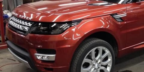 Range Rover Sport images leaked