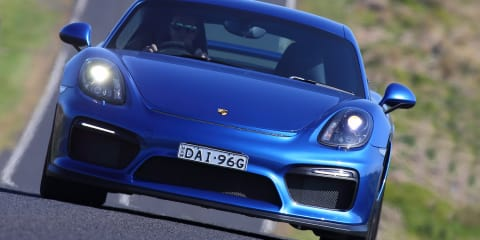 Porsche Cayman GT4 Review :: Track test