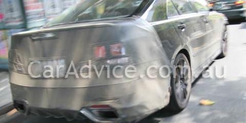 Toyota TRD Aurion Spy Shots