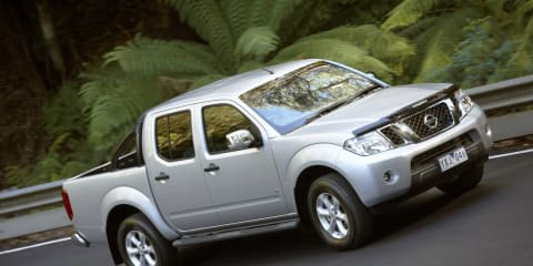 2012 Nissan Navara on sale