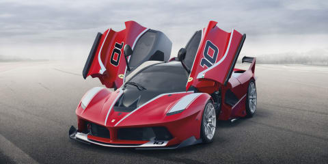 Ferrari FXX K tackles Atlanta circuit - Video
