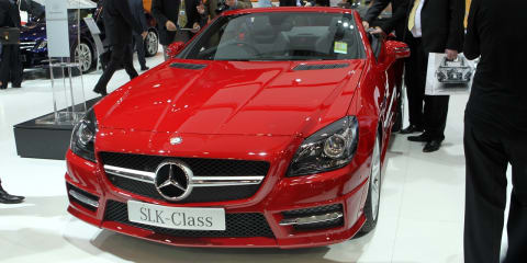 2011 Mercedes-Benz SLK at Australian International Motor Show 2011