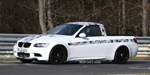 2011 BMW M3 ute spotted on Nurburgring