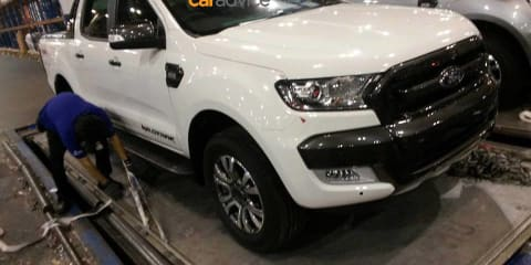 2015 Ford Ranger photographed pre-launch, again