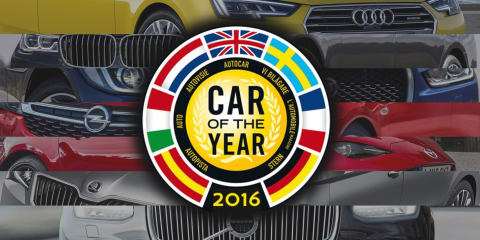 2016 European Car of the Year award finalists announced