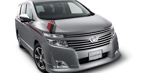 Nissan Leaf Aero Style Concept at 2011 Tokyo Auto Salon