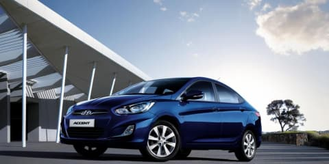 2012 Hyundai Accent pricing and specifications for Australia