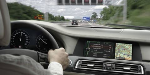 BMW Speed Limit information technology headed for Australia