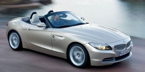 2009 BMW Z4 at the Melbourne Motor Show