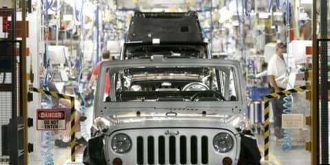 Jeep to be made in Italy at Fiat Mirafiori plant