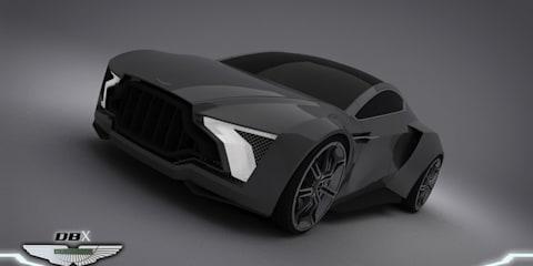 Aston Martin DBX design study