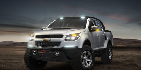 2012 Holden Colorado Crew Cab previewed in Rally Concept