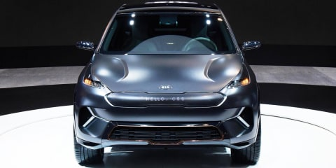 Kia Niro EV concept revealed at CES