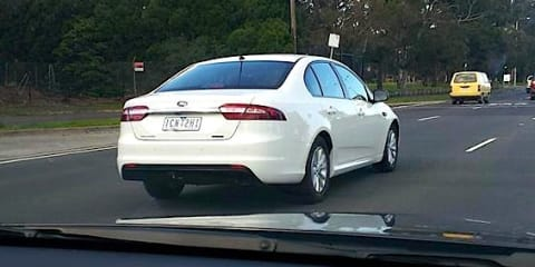 2015 Ford Falcon XT spied