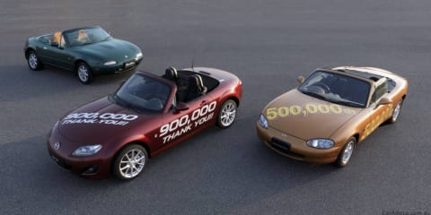 Mazda MX-5 sets record with 900,000 production run