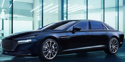 Aston Martin Lagonda interior, final production body revealed