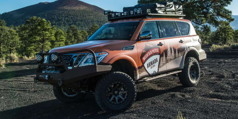 Nissan Armada Mountain Patrol debuts in full