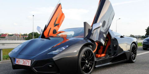 Video: Poland's first supercar by Arrinera Automotive