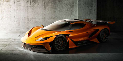 Apollo Arrow supercar:: First new supercar from revived Gumpert