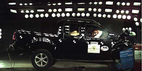 2012 Nissan Navara gets four-star ANCAP rating