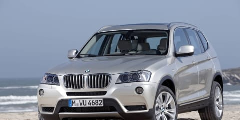 2011 BMW X3 Australian pricing and availability