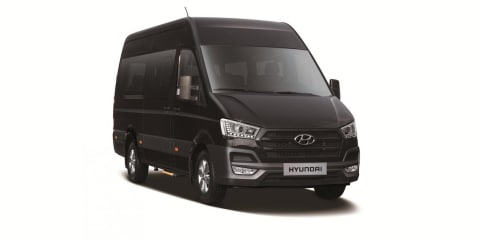 2015 Hyundai H350 large van revealed : UPDATED with new images