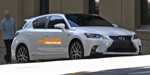 2014 Lexus CT200h facelift revealed