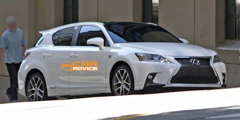 2014 Lexus CT200h facelift revealed