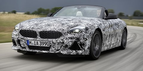 2019 BMW Z4 nears production